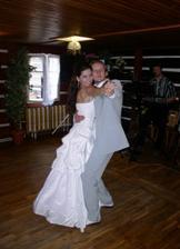 náš první manželský taneček
