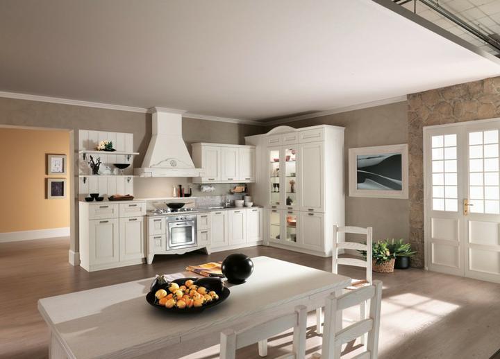 Drevo a biela v kuchyni - Obrázok č. 81