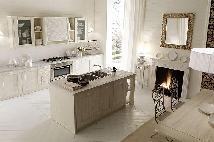 Drevo a biela v kuchyni - Obrázok č. 82