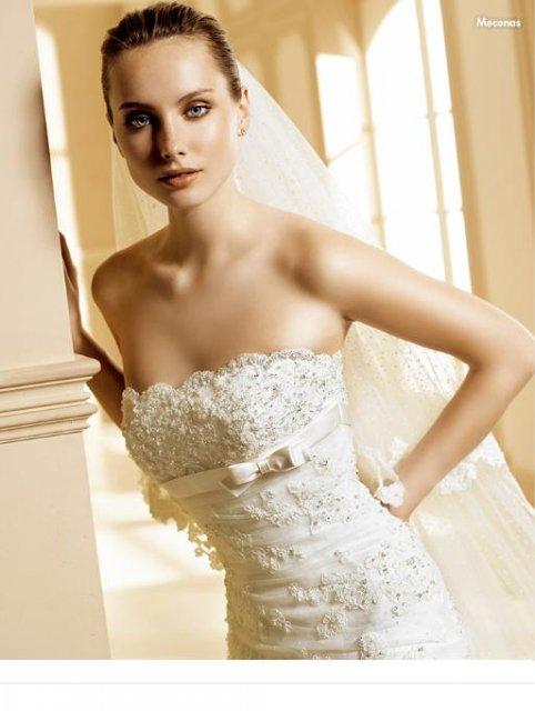 Martuska pripravy - Moje šaty - La sposa - Mecenas