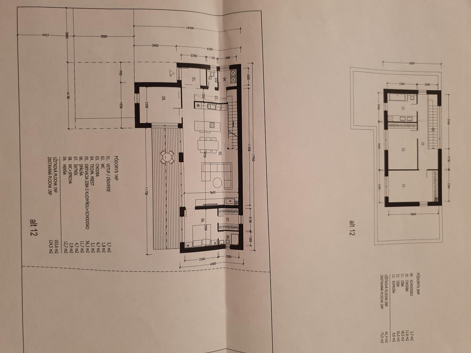 Náš naprojektovaný domček - Obrázok č. 6