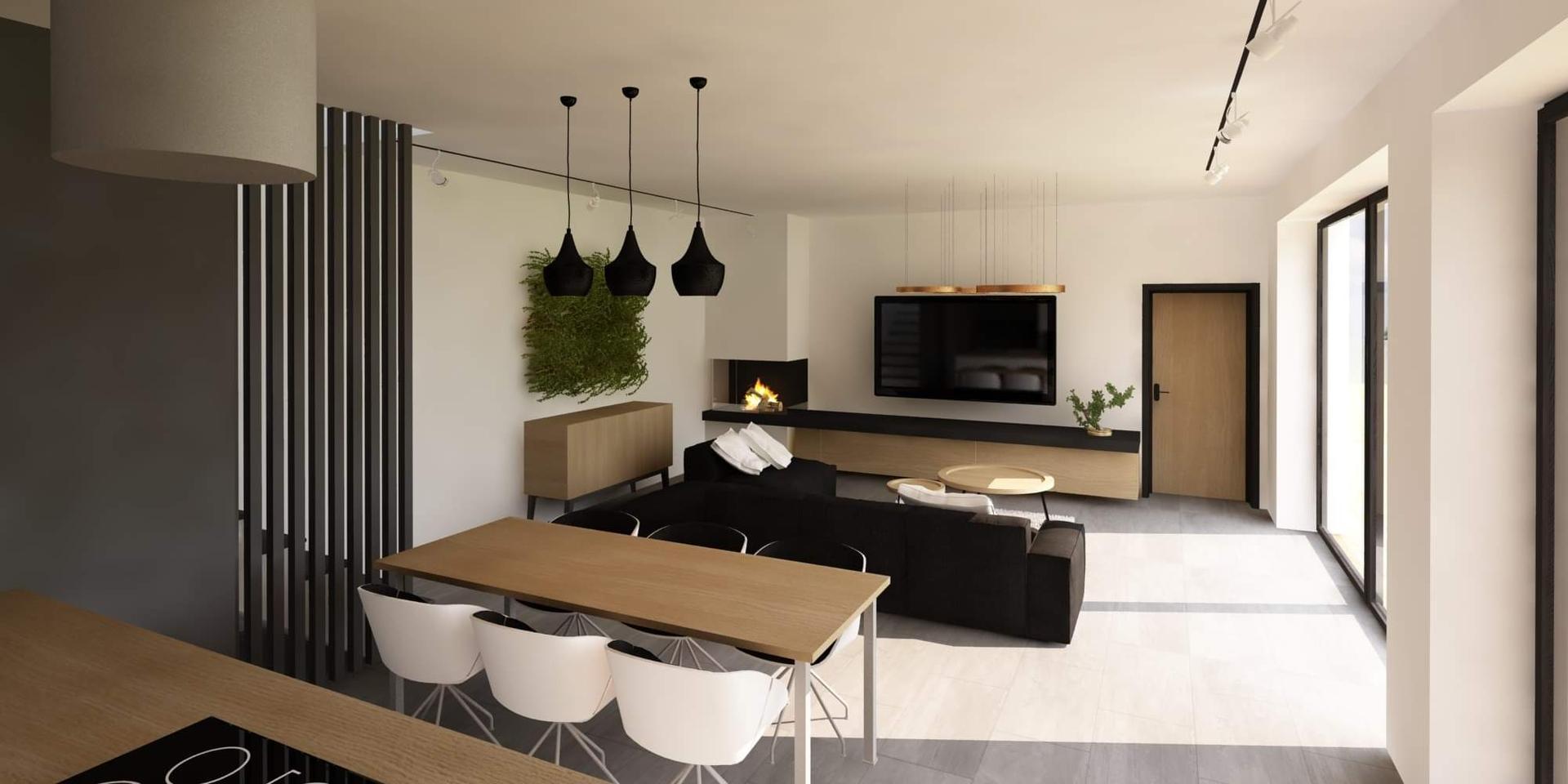 Náš naprojektovaný domček - Nova vizualizacia s podlahou aj s dverami