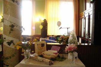 stůl na dary...:-)