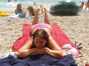 jedna z pláže