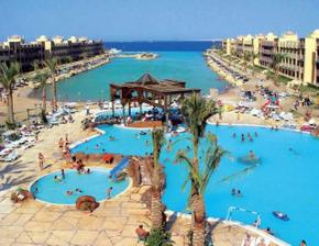 Svatební cesta - Egypt Hurghada - hotel Sunrice el Palacio  NÁÁÁDHERA :-)