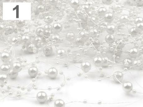 Perličková girlanda - Obrázok č. 1