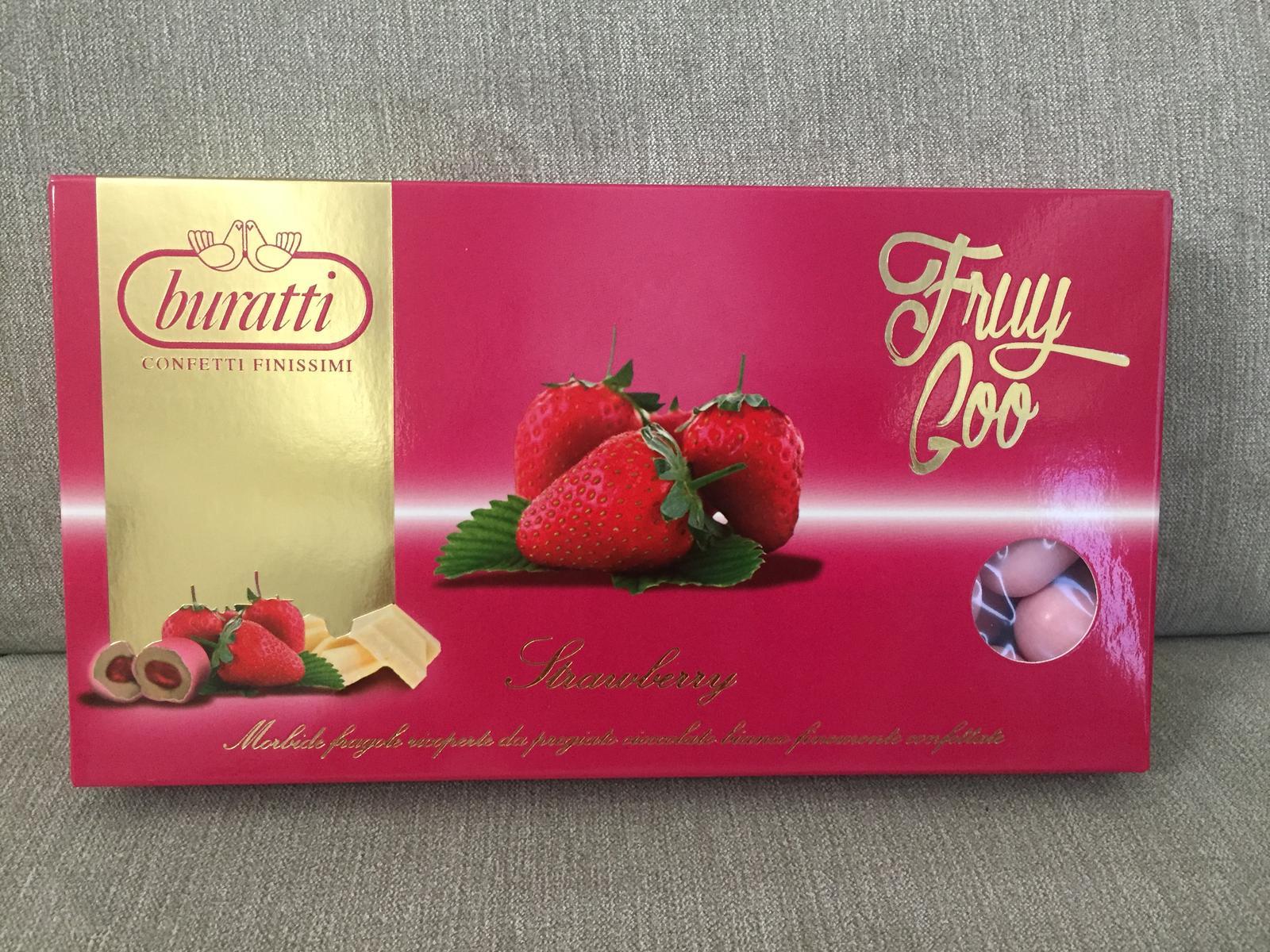 Jahody v bielej čokoláde potiahnuté ružovým cukrom - Obrázok č. 1