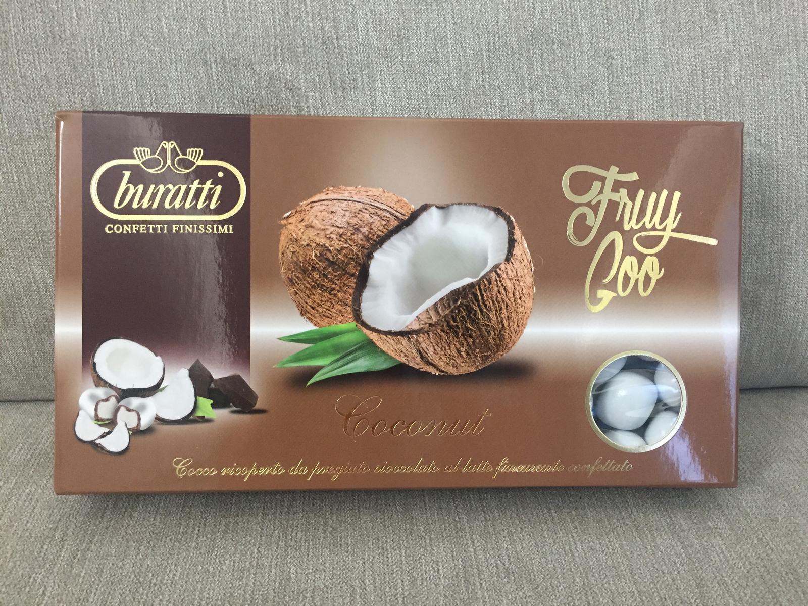 Kokos v mliečnej čokoláde obalené bielym cukrom - Obrázok č. 1