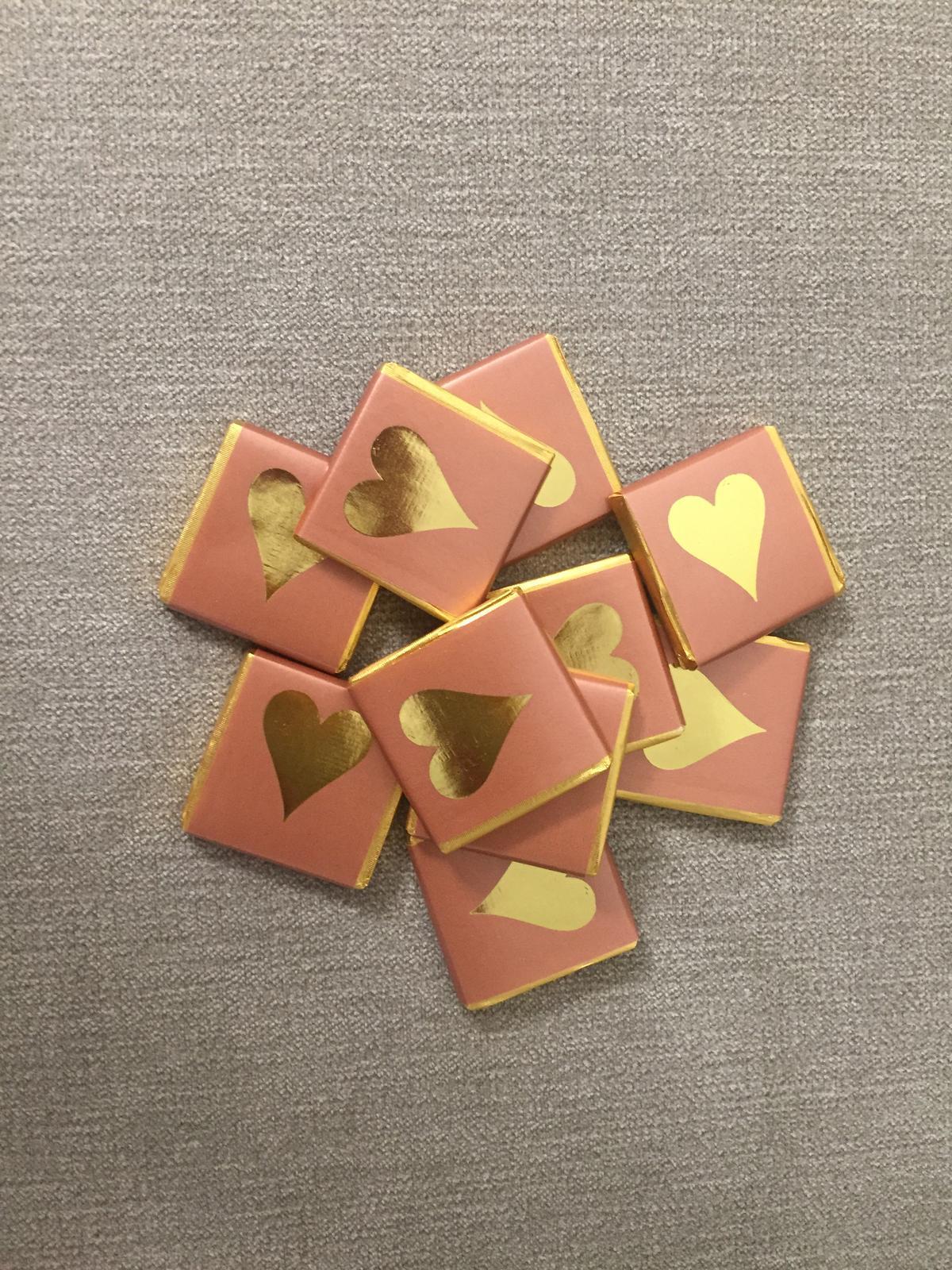 Mliečne čokoládky - balenie 100ks - Obrázok č. 1