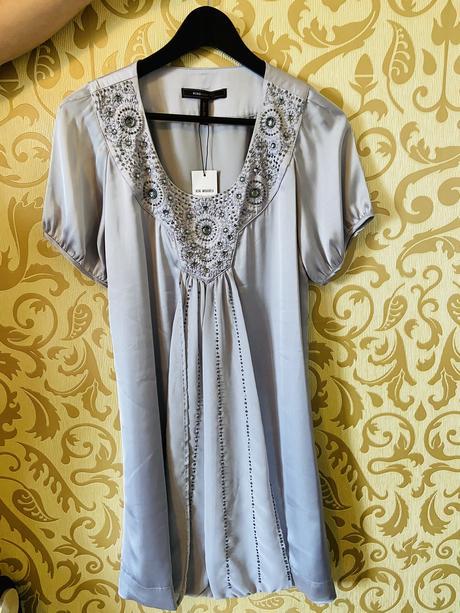 Saténové šaty - Obrázok č. 1