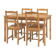 Moc pěkná sada stolu a židlí