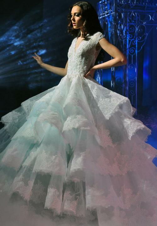 Svadobné šaty - Michael Cinco for Bench
