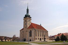 Obřad - kostel Nanebevzetí Panny Marie v Mostě