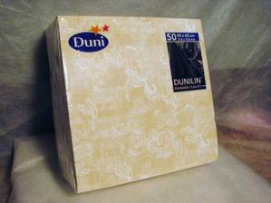 Dunilinove servitky na stol