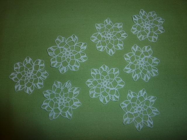 Háčkované kvety - Obrázok č. 1