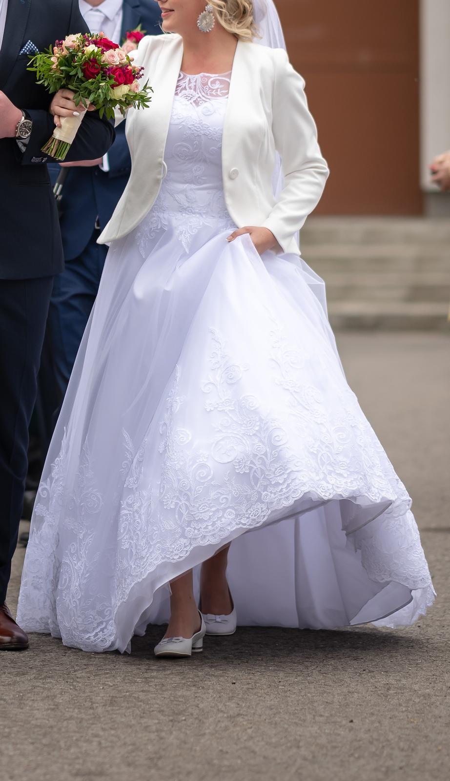 svadobné šaty 180cm - Obrázok č. 2