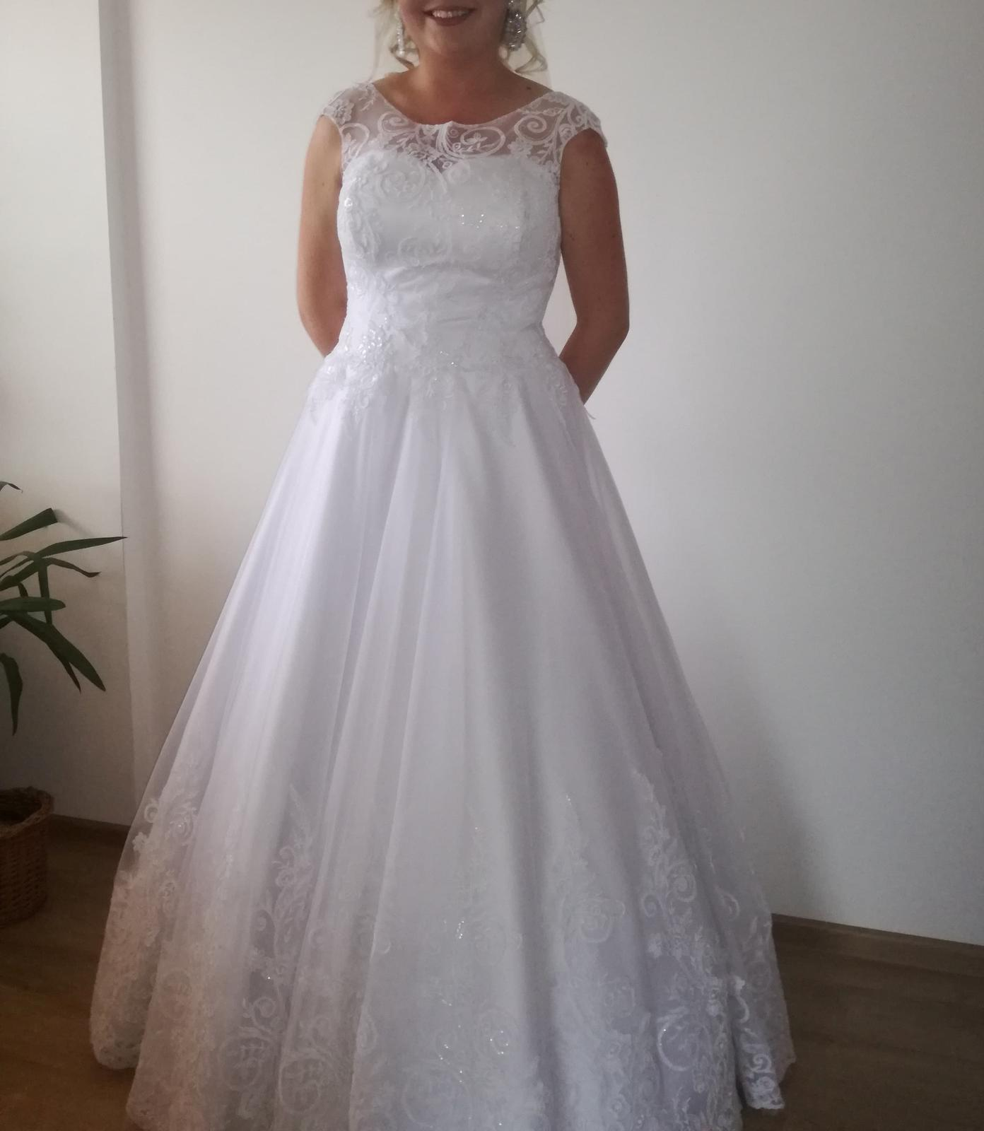 svadobné šaty 180cm - Obrázok č. 3