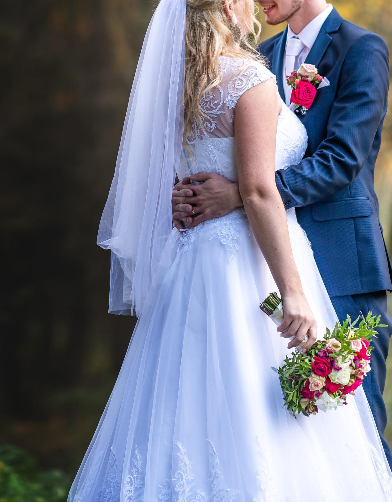 svadobné šaty 180cm - Obrázok č. 4