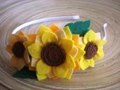Čelenka - rôzne kvetinkové,