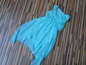 Mentolové dievčenské šaty, 116