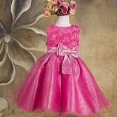 Nabízím šaty pro družičky – Skladem Barva:růžová,bílá vel.90,100,110,120,130,140,150,160
