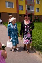 Manželova babička a maminka :)