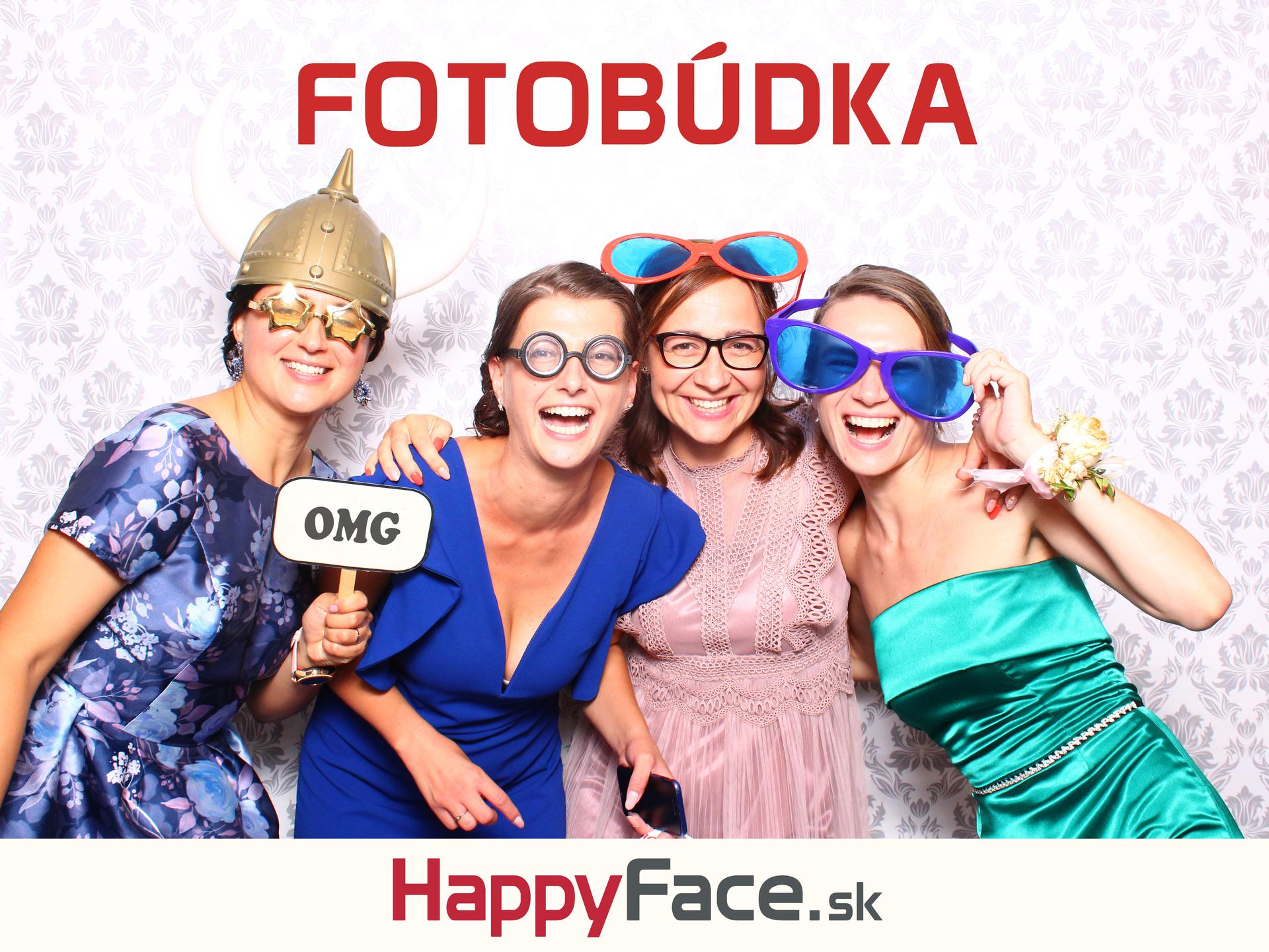 Prenájom fotobúdky za super ceny 🙂 Neobmedzené množstvo fotiek 👍 Nekonečné množstvo rekvizít 🤩 www.happyface.sk - Obrázok č. 1