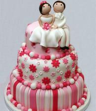 a zase roztomilý dortík..