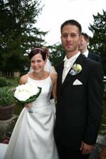 šťastni novomanželé Žatečkovi :o)