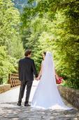 Svadobné šaty + spodnicka + zavoj, 38