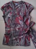 Zavinovacia bavlnená farebná tunika č. 40, 40
