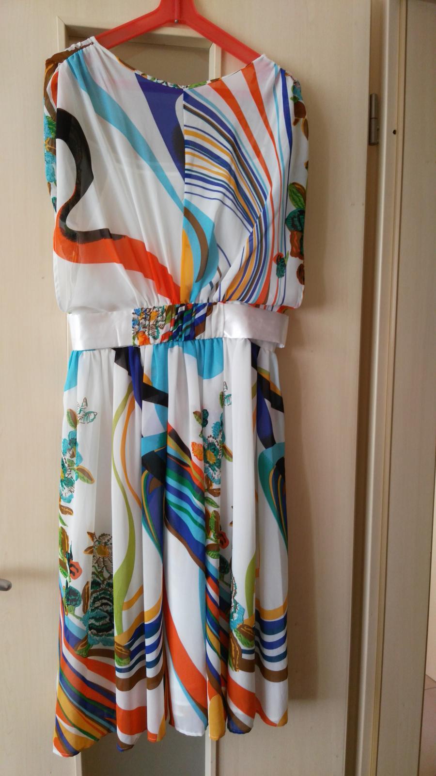 Elegantné/letné šaty č. 36 (S) - Obrázok č. 2
