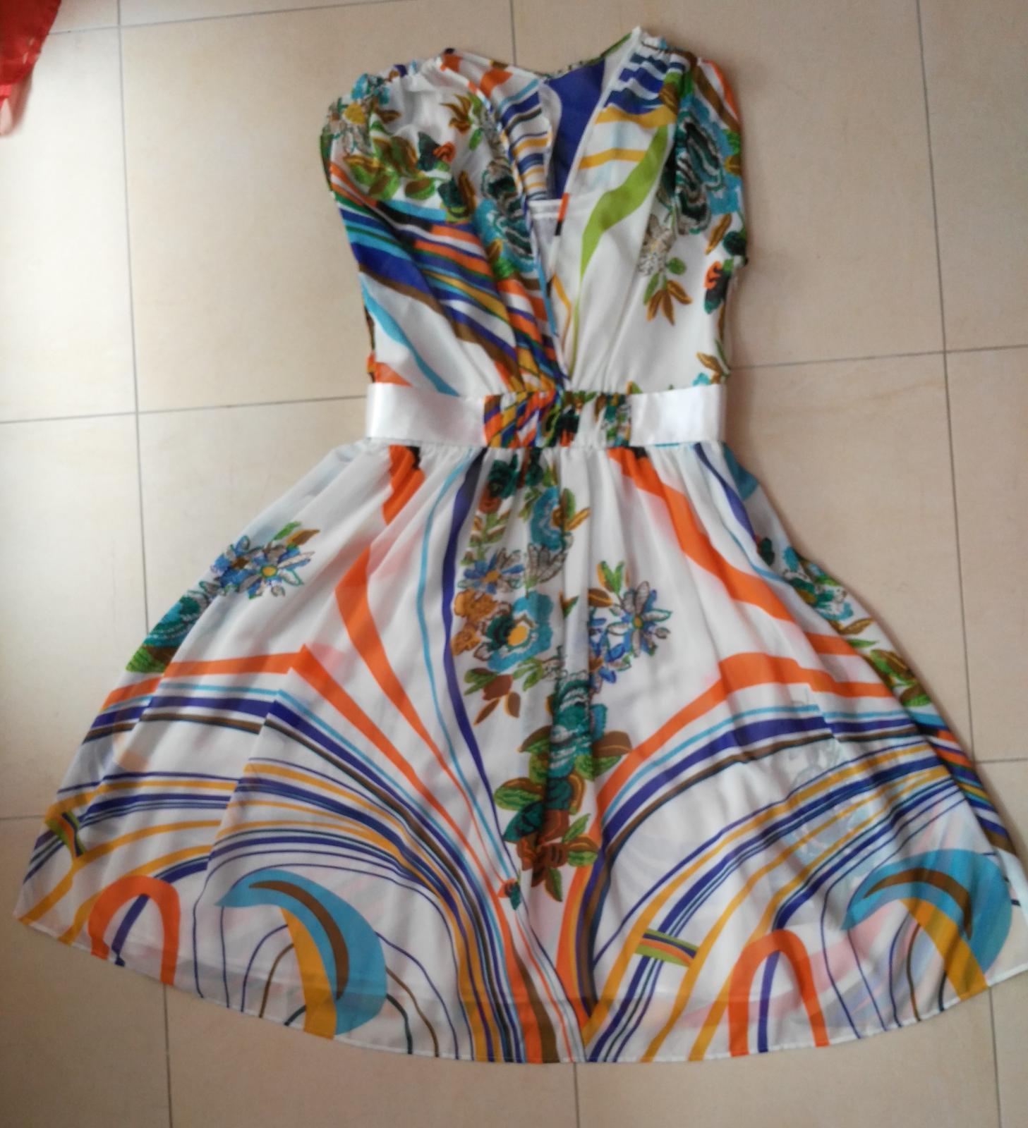 Elegantné/letné šaty č. 36 (S) - Obrázok č. 3