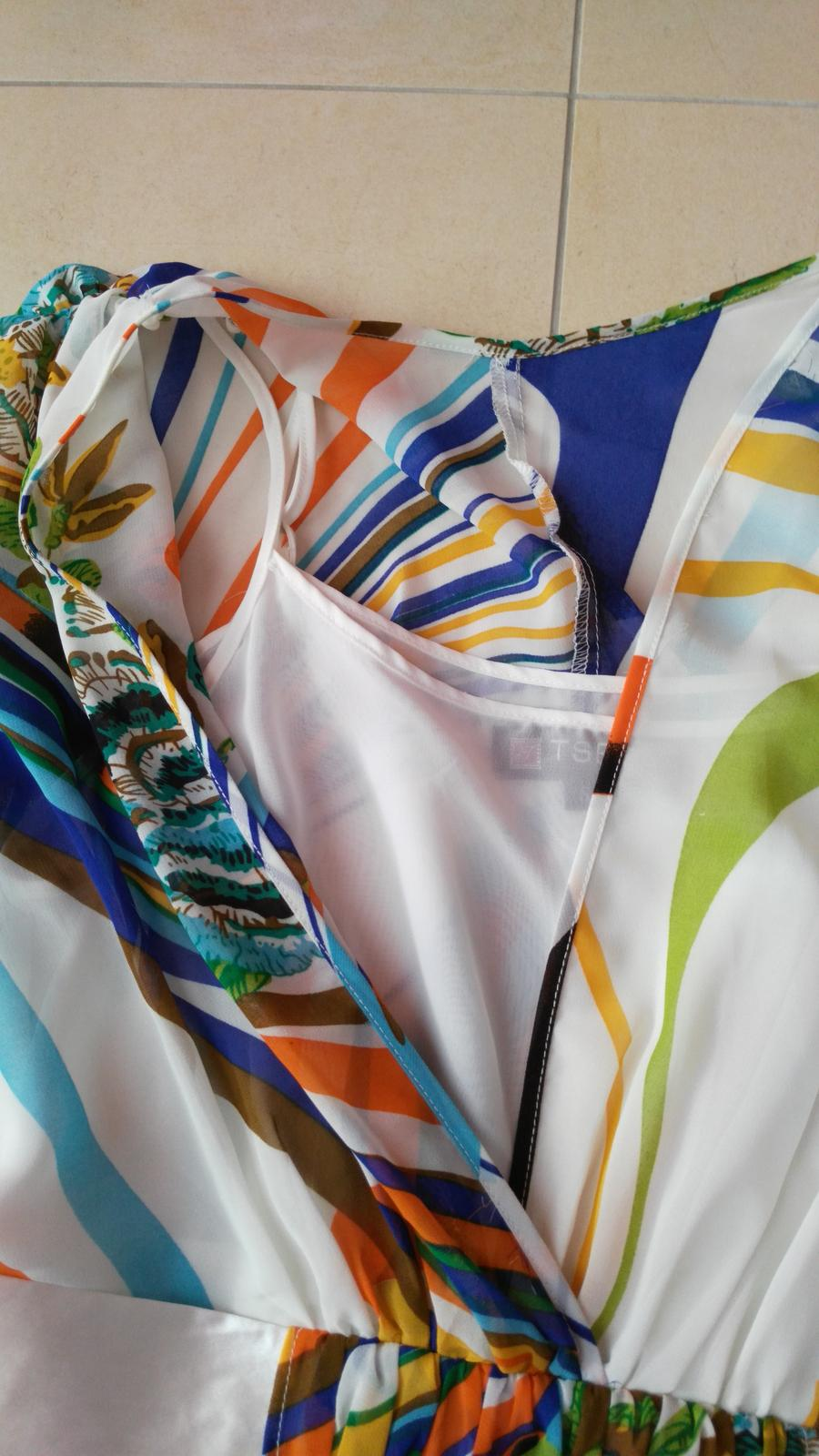 Elegantné/letné šaty č. 36 (S) - Obrázok č. 4