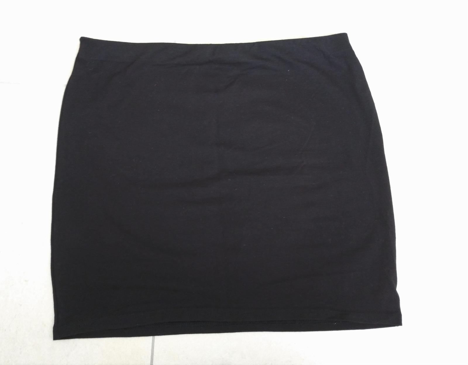 Čierno-zlatá sukňa s kamienkami 36/S - Obrázok č. 3