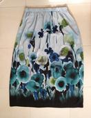 Dlhá kvetovaná sukňa 40/L, 40