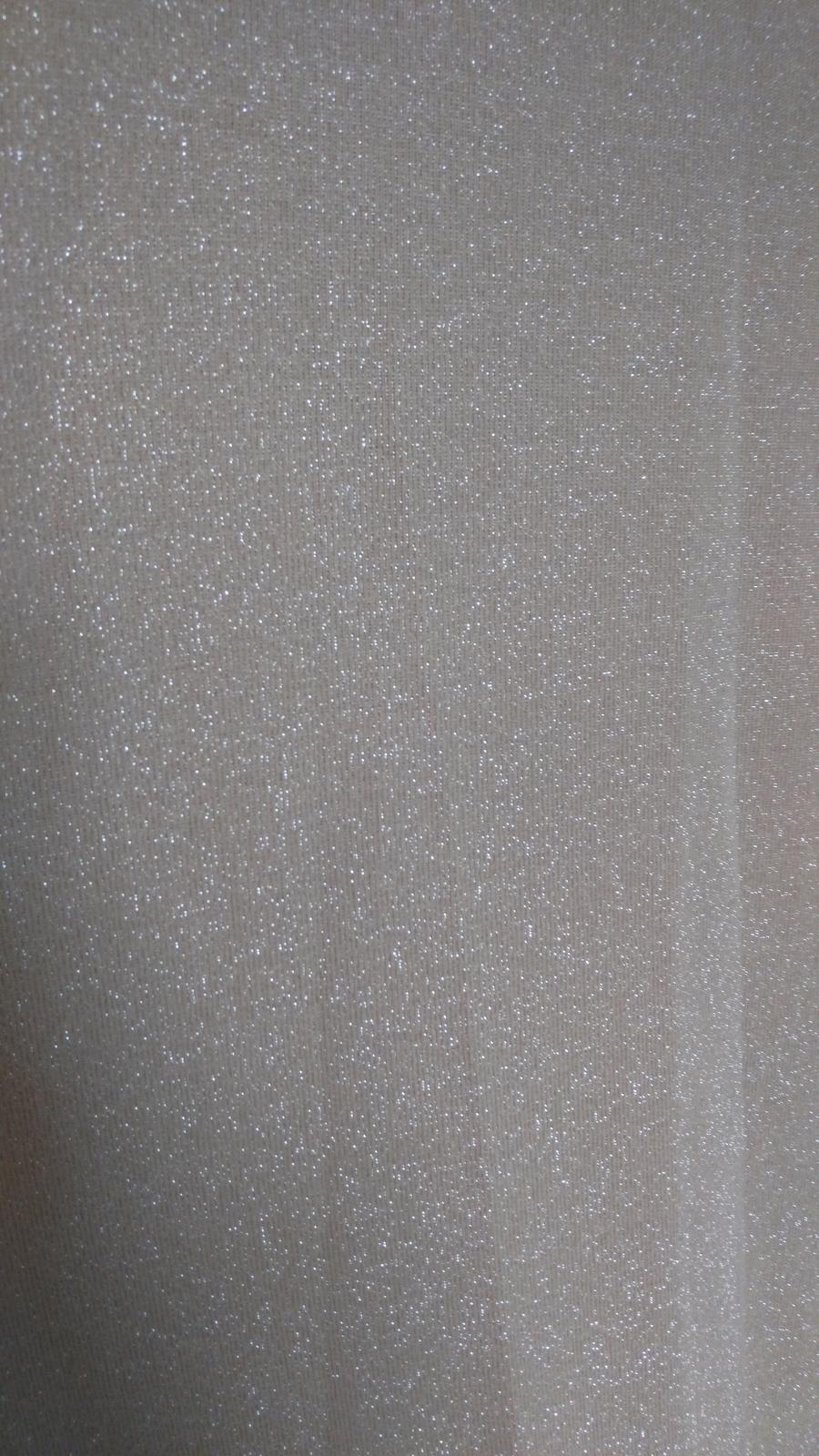 Béžovo-strieborné šaty 36/S - Obrázok č. 3