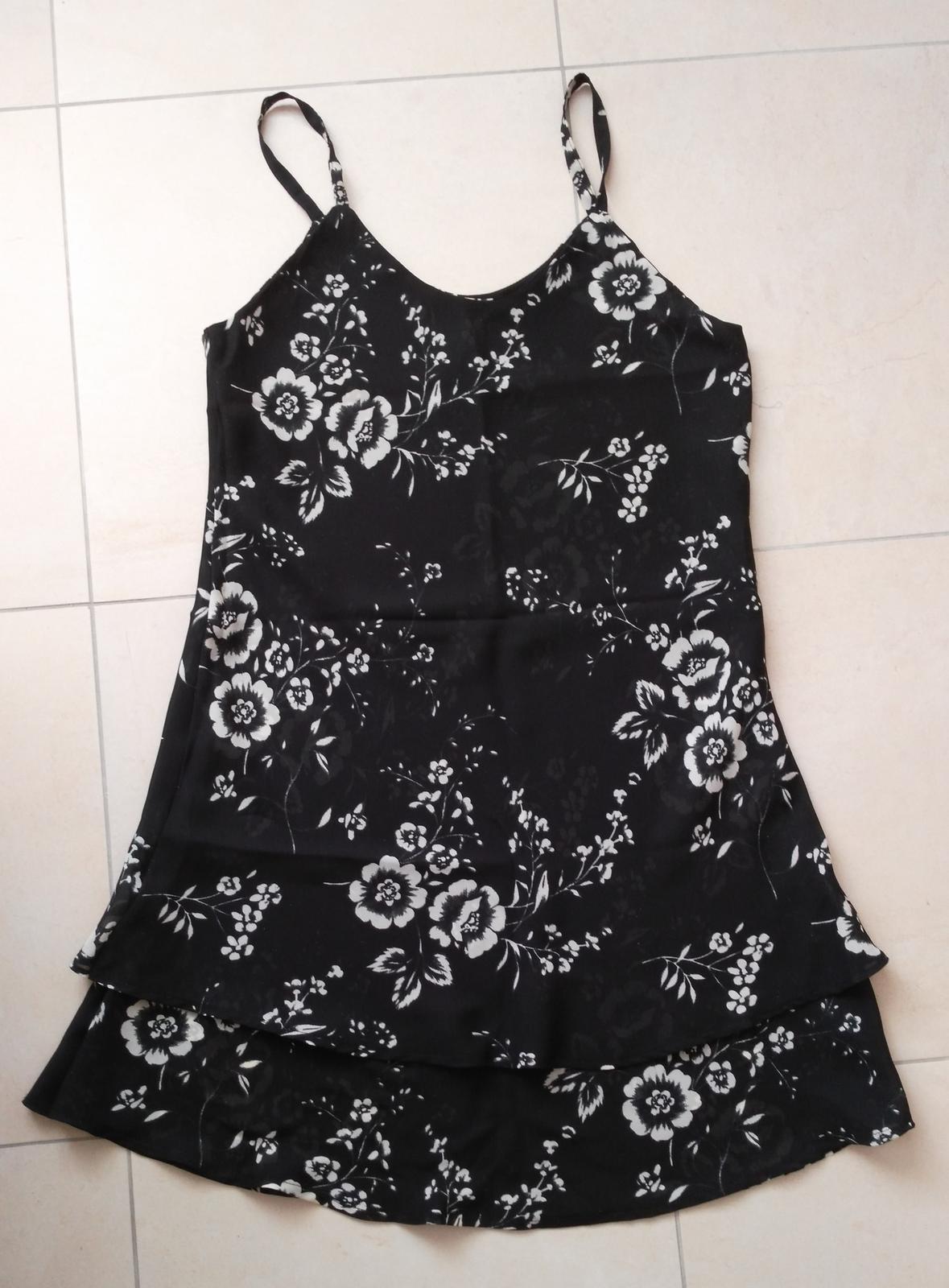 Kvetované šaty 40/L - Obrázok č. 3