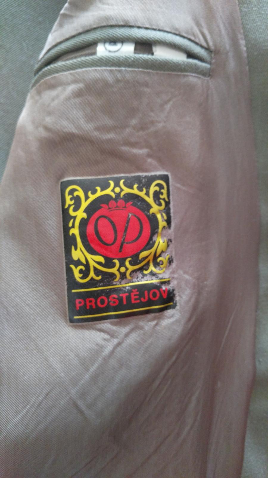 Hnedo-khaki oblek č.52 - Obrázok č. 3