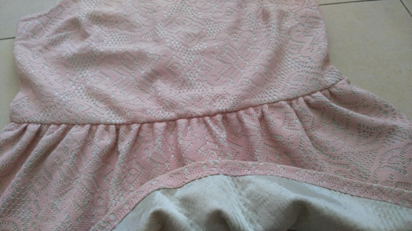 Elegantný ružový top 40/L - Obrázok č. 2
