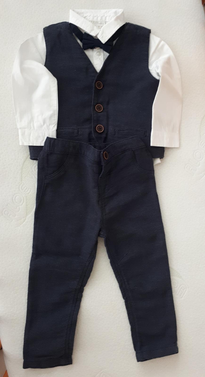 Chlapecký oblek 12-18m - Obrázek č. 1