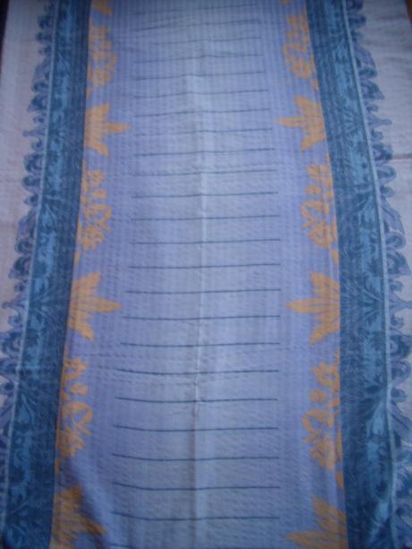 Fialové krepové obliečky na dve postele  - Obrázok č. 2
