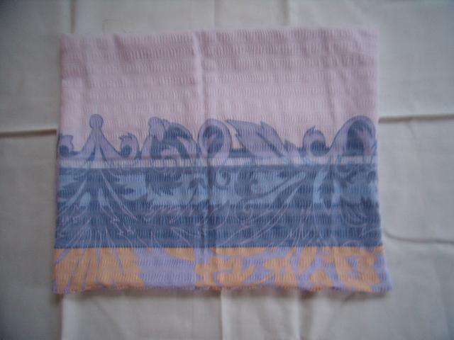Fialové krepové obliečky na dve postele  - Obrázok č. 4