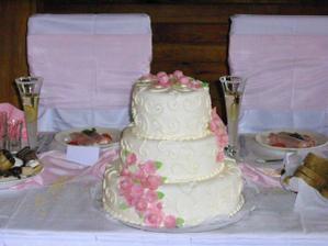 hlavna svadobna torta