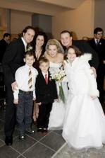 braska Misa s rodinou