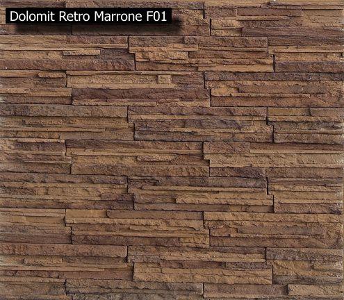 Kamenné obkladyI /imitácie prírodného kameňa/ - dolomit kamen classic cenníková cena 28,9 Eur/m2