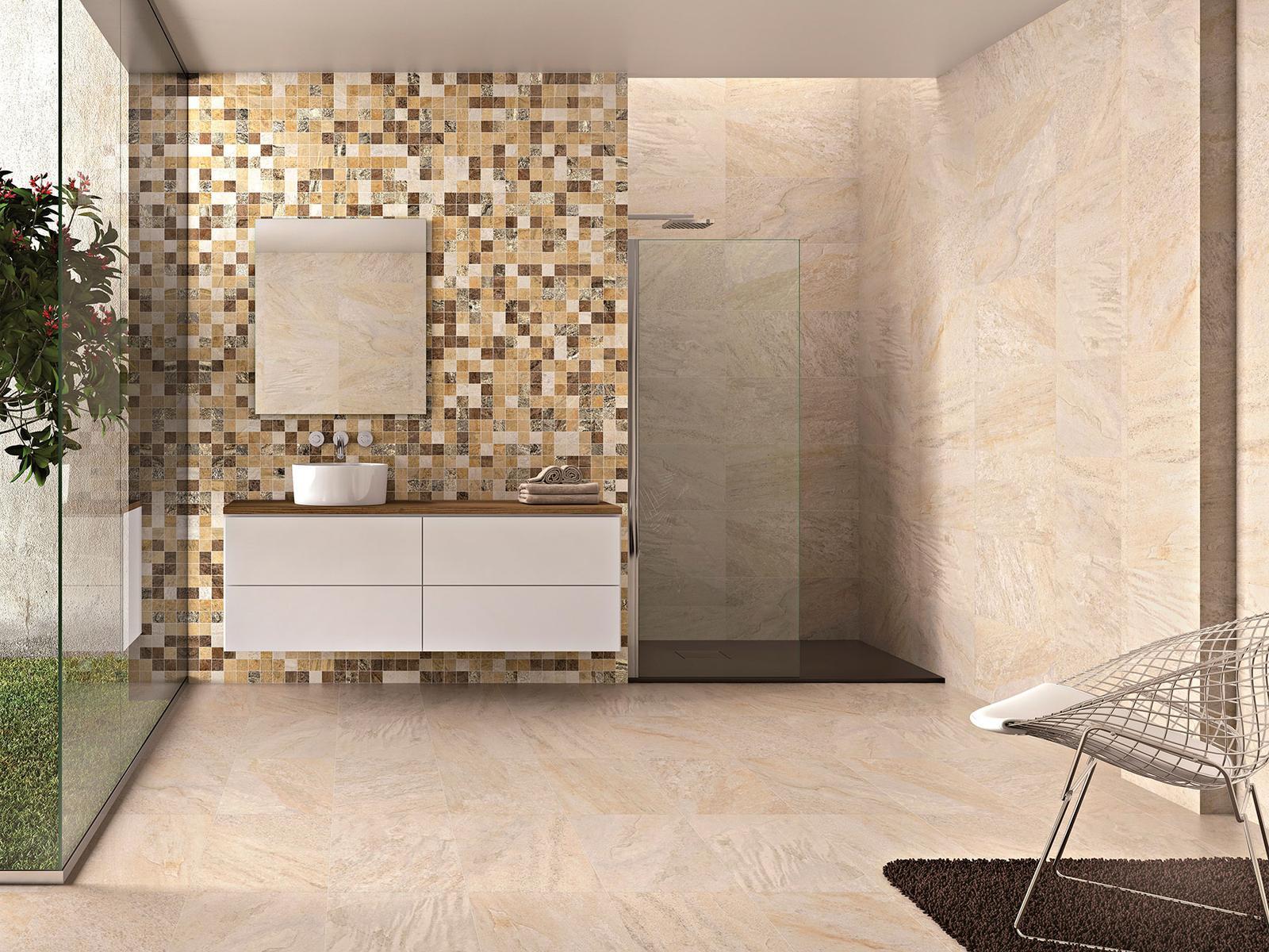 Luxusné kúpelne zo Španielska - dizajnová kúpeľňa Dolmen Sand 49,1x98,2