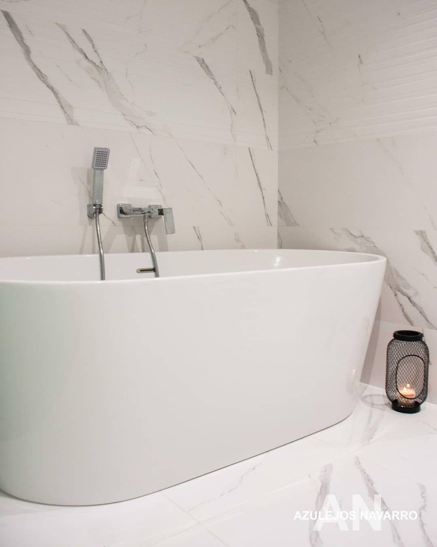 Luxusné kúpelne zo Španielska - obklad Calacatta 120x40 , rektifikovaný obklad, porcelanico /A
