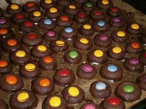 Polomáčené sádlové koláčky