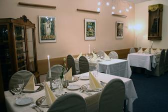 Tu bude svadobný obed - Chez David